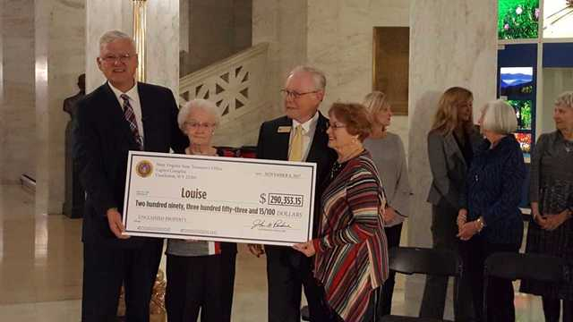 Unclaimed Property: 90 Year Old West Virginian Gets Surprise Gift From Husband
