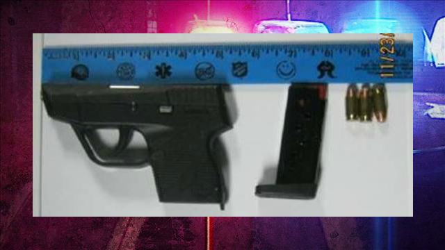 Man Caught with Loaded Gun at Yeager Airport on Thanksgiving