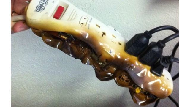 Do not plug space heaters into power strips, fire department warns