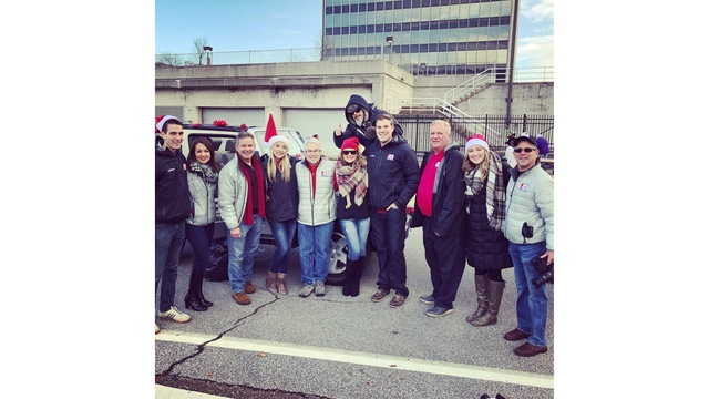 The WOWK Family Came Out To Participate In The Annual Charleston Christmas Parade