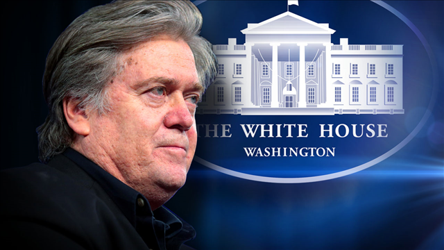 Trump blasts Bannon over book, says ex-aide 'lost his mind'