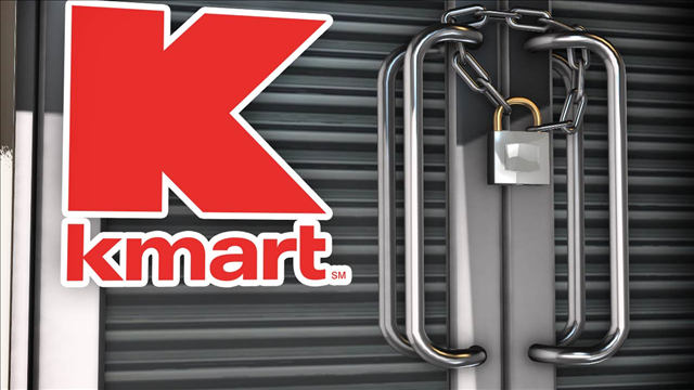 Sanford Kmart to close in April