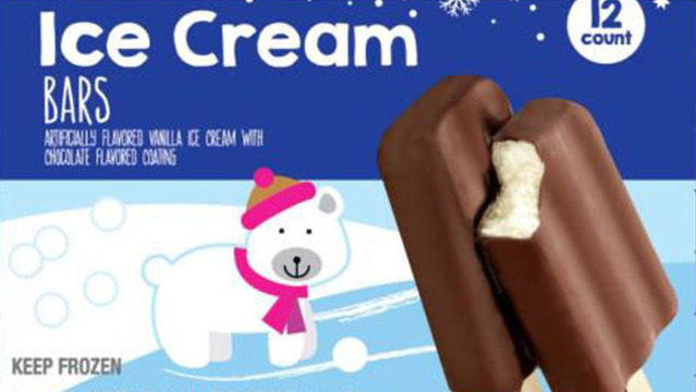 Giant Announces Recall of Ice Cream Bars