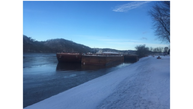Loose Barges Running Amok On The Ohio River