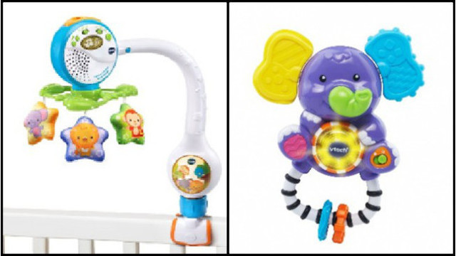 VTech recalls 280000 infant rattles over choking hazard