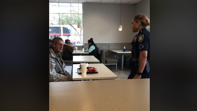 Good Samaritan Buys Homeless Man Food - McDonald's Kicks Them Both Out
