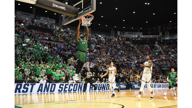 Marshall upsets Wichita State for first NCAA Tournament win in school history