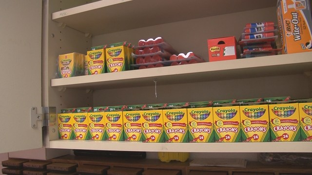 Cabell County students get all the school supplies they need.