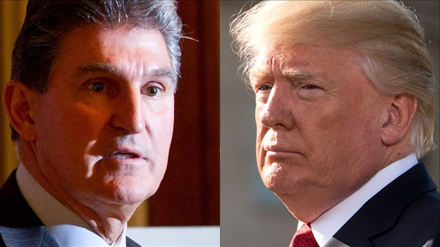 Senator Manchin: President Trump tried to get me to switch parties