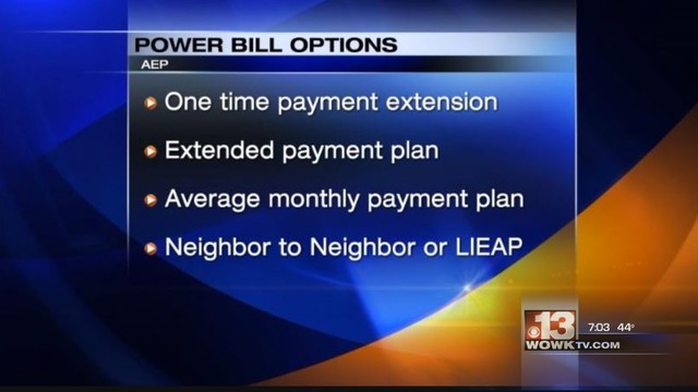 AEP Offers Help To Customers Struggling With Their Electric Bills