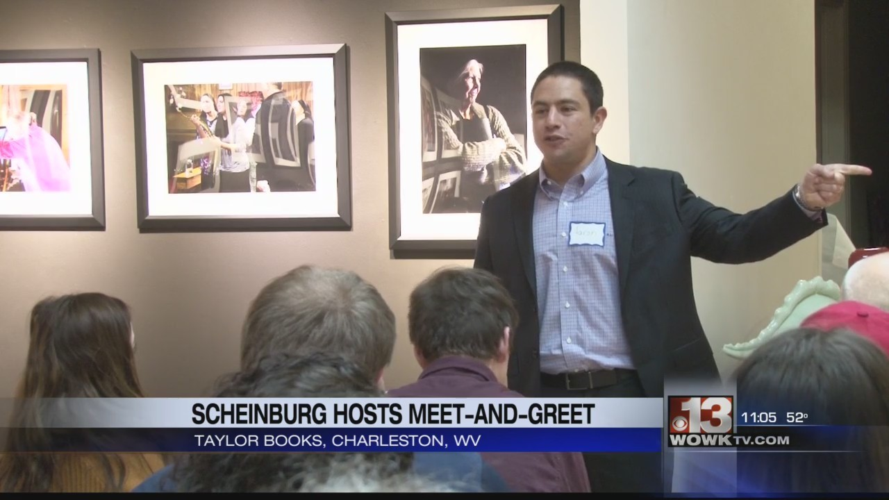 Congressional Candidate Aaron Scheinberg Hosts Meet And Greet