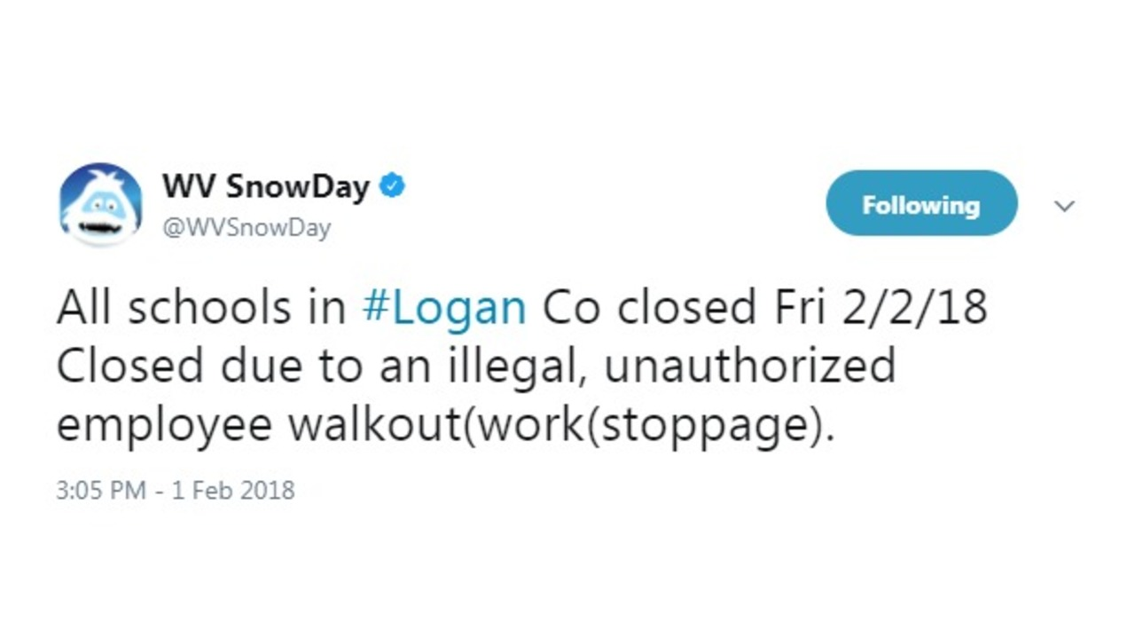 Logan County Schools Closed Tomorrow Due To Teacher Walkout