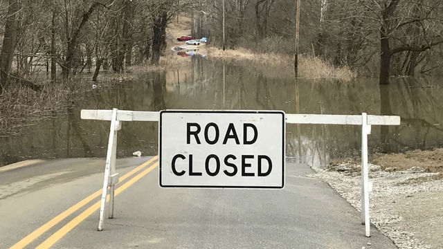 Woman Rescued from Vehicle Stuck in Floodwaters in Lawrence County, Ohio