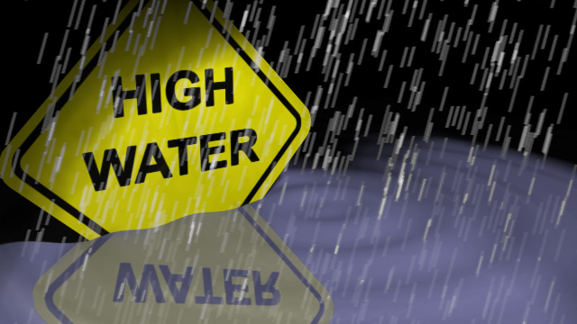 High Water, Trees Down Reported in Region