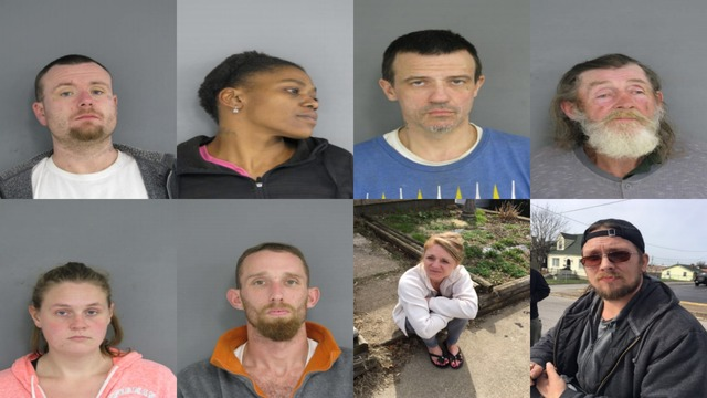 SLIDESHOW: Charleston Police Warrant Sweep Nets 10 Arrests