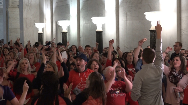 WV Teacher Strike Ends; Pay Hikes Approved