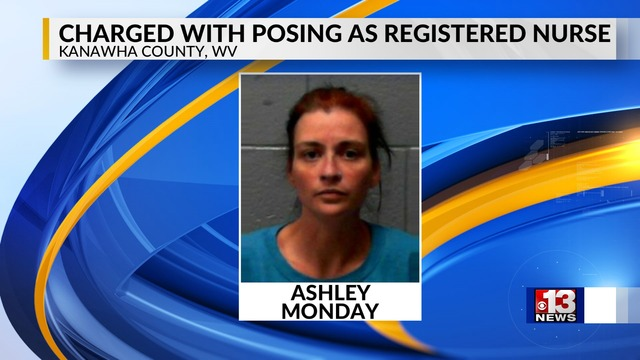 Kanawha County Woman Charged with Posing as Registered Nurse