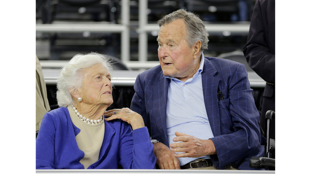 Former President George H.W. Bush hospitalized, in intensive care hours after wife's funeral