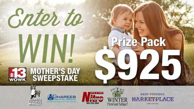 2018 Mother's Day Sweepstakes
