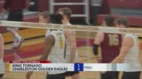 Charleston Men's Volleyball Defeats King in Four