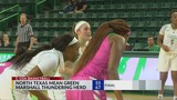 Marshall Women's Basketball Beats North Texas&#x3b; Men Lose to Mean Green