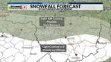 Quick Moving Storm Should Leave Snow In Southern Counties